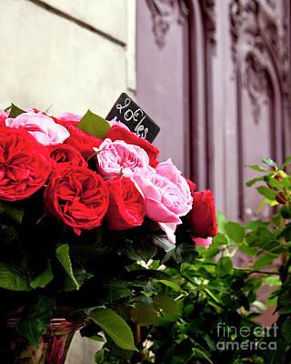 Photograph - Parisian Roses by Brian Jannsen