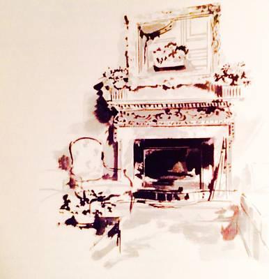 Kim Fearheiley Photography - Park Avenue Fireplace by Jacqueline Manos