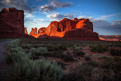 Photograph - Park Avenue Sunset by ProPeak Photography