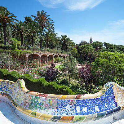 Photograph - Park Guell by Focusstock