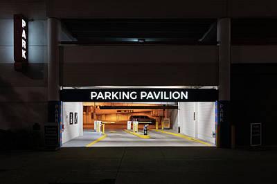 Photograph - Parking Pavilion by Randy Scherkenbach