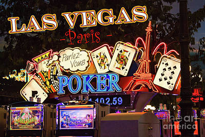 Photograph - Parlez Vous Poker by Tatiana Travelways