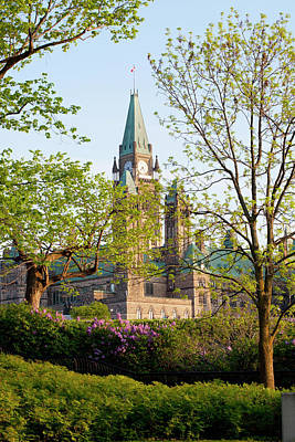 Parliament Buildings Art Print
