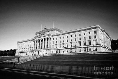 Photograph - Parliament Buildings Stormont Belfast Northern Ireland by Joe Fox