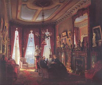 Painting - Parlor Of John Bullard by Reynold Jay