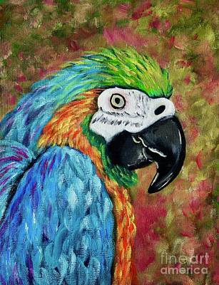 Painting - Parrot by Jacqueline Athmann
