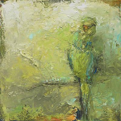 Painting - Parrot by Nan Davis