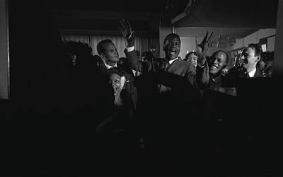 Photograph - Party For Raisin In The Sun by Gordon Parks