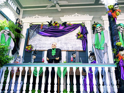 Photograph - Party For The Dead In New Orleans by John Rizzuto