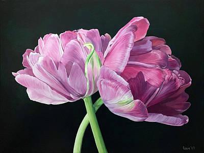 Painting - Pas De Deux by Lissa Banks