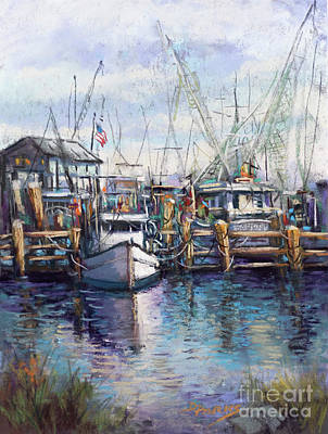 Painting - Pass Christian Harbor by Dianne Parks