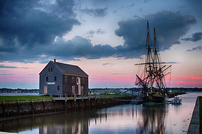 Photograph - Passing Storm Salem Massachusetts by Jeff Folger