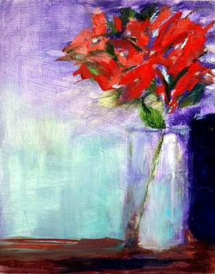 Wall Art - Painting - Passion Flower by Donna Carrillo