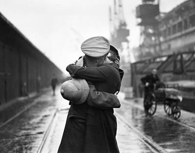 Photograph - Passionate Reunion by Douglas Miller
