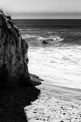 Photograph - Past The Rocks At Point Dume Malibu by John Rizzuto
