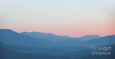 Mountain Royalty-Free and Rights-Managed Images - Pastel Mountains by Diane Diederich