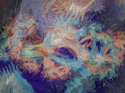 Digital Art - Pastel Splash by Bill Posner