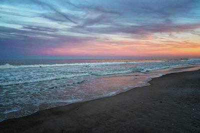 Photograph - Pastel Sunset by Tom Singleton