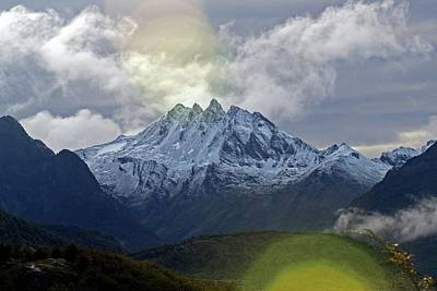 Photograph - Patagonia Mountains by Mark Duehmig