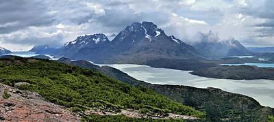 Photograph - Patagonia - Torres Del Paine Mountains - Main View by Jeremy Hall