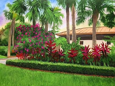 Painting - Patch Reef Park #1 by Robert Korhonen
