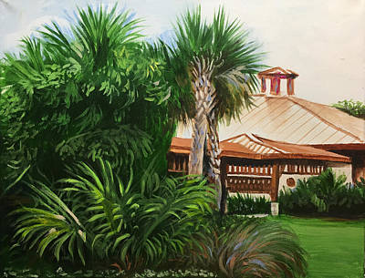 Painting - Patch Reef Park Clubhouse by Robert Korhonen
