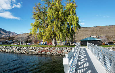 Photograph - Pateros Park Dock Ramp by Tom Cochran