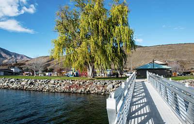 Photograph - Pateros Park Dock Ramp by Tom Cochran