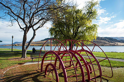 Photograph - Pateros Playground by Tom Cochran