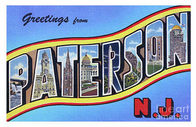 Photograph - Paterson Greetings - Version 1 by Mark Miller