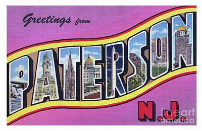 Photograph - Paterson Greetings - Version 2 by Mark Miller