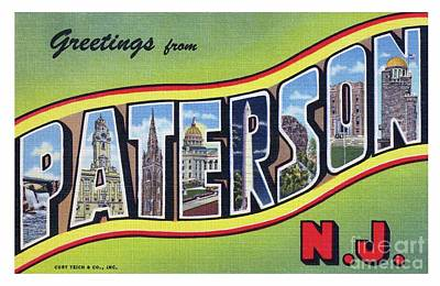 Photograph - Paterson Greetings - Version 3 by Mark Miller