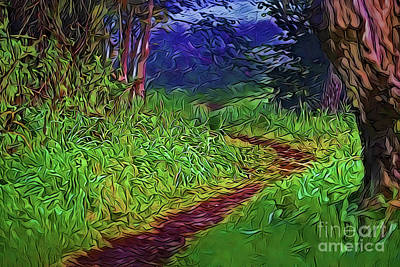 Painting - Path A18-30 by Ray Shrewsberry