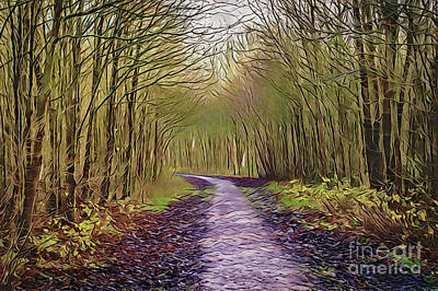 Painting - Path A18-38 by Ray Shrewsberry