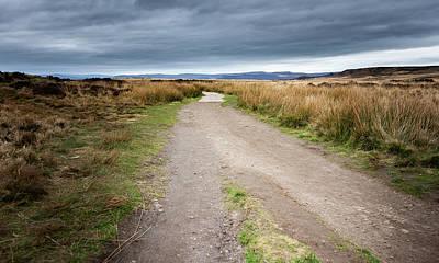 Photograph - Path Along The Edge by Scott Lyons