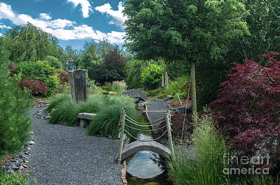 Photograph - Path In The Garden  by Michelle Meenawong