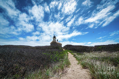 Photograph - Path To North Light  by Michael Ver Sprill