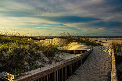 Photograph - Path To The Beach  by John Harding