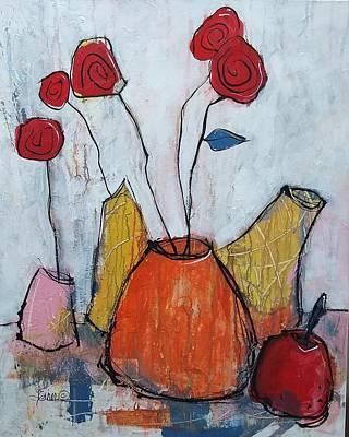 Painting - Patio Plot by Terri Einer