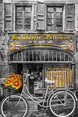 Photograph - Patisserie In Paris by Debra and Dave Vanderlaan