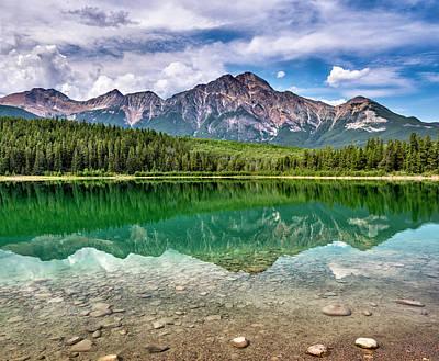 Photograph - Patricia Lake, Jasper National Park by Witold Skrypczak