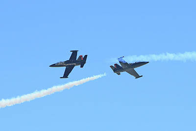 State Love Nancy Ingersoll Rights Managed Images - Patriots Jet Team #8 Royalty-Free Image by Shoal Hollingsworth
