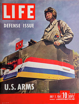 Photograph - Patton Life Magazine Cover by Kevin McCarthy