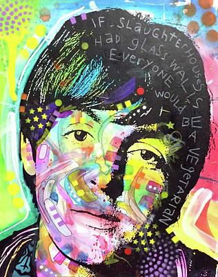 Paul Mccartney Wall Art - Painting - Paul Mccartney by Dean Russo Art