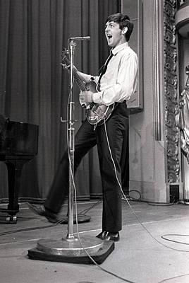 Celebrity Photograph - Paul Mccartney Of The Beatles Pop by Popperfoto