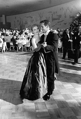 Photograph - Paul Newman & Wife 2joanne Woodward by J. R. Eyerman