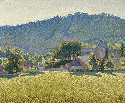 Valentines Day - Paul Signac French, 1863-1935,  Comblat-le-Chateau, the valley by Paul Signac