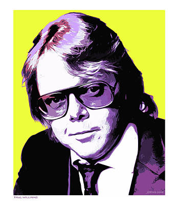 Drawing - Paul Williams by Greg Joens