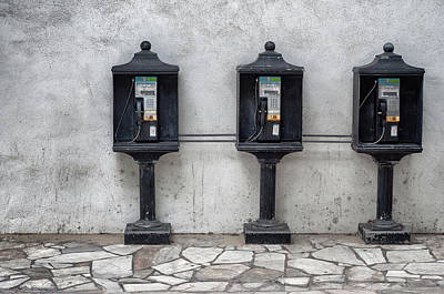 Curtis Patterson Rights Managed Images - Pay phones Royalty-Free Image by Curtis Patterson