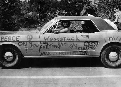 Photograph - Peace Car by Three Lions